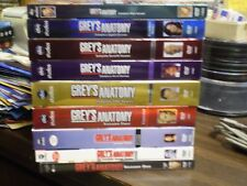 (9) Grey's Anatomy Season DVD Lot: Seasons 1-9    w/Slipcovers