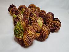Hand dyed Merino Superwash yarn, Aran weight, 100g, YESTERDAY
