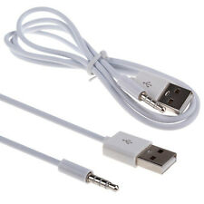 3.5mm Aux Audio Plug Jack to Usb 2.0 Male Charging Cable Adapter For iPod Mp3 Ca