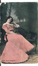 Millar & Lang POSTCARD MISS JULIE MACKAY 1904