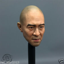 1/6 The Warlords Jet Li Head Sculpt Bald Head Ver. Male Man Head Model Toy