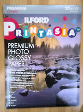 ILFORD HIGH QUALITY A3 GLOSSY PHOTO PAPER EXCELLENT PRINTING RESULTS