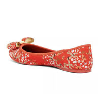 TED BAKER Immep Floral Bow Flat (Size 6)