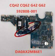 For Hp Compaq G42 G62 Cq42 Cq62 Amd 592808-001 Da0Ax2Mb6E1 laptop Motherboard