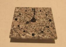 "Deer Isle Tide Wall Clock  8"" Granite Maine Battery Operated"