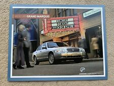 2007 Mercury Grand Marquis Car Brochure (USA)