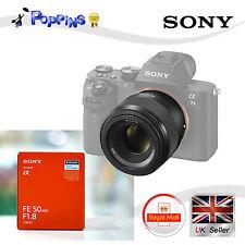 Sony SEL50F18F FE 50mm f/1.8 Lens SEL50F18F for 35mm E-mount Full Frame