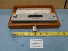 Mitutoyo 960 612 Precision Machinist Millwright 8 Level Dual Vial 000612
