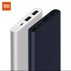 Xiaomi Power Bank Orignal 10,000mAh Portable Charger 18W Quick Charge Dual USB