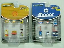 GREENLIGHT 1:64 Mopar+ Shell Shop Tool Accessories 2 Pack New In Stock
