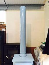 1000mm, 1 Meter length of Duck egg blue  enamel flue pipe, Enamelled, Pipes