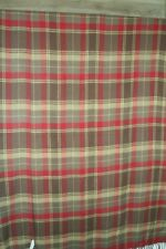 "Woolrich Home for Target Acrylic Fringe Reversible Throw Blanket  50"" x 60 Plaid"