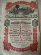 Circulated Transport/Railroad World Share Certificates & Bonds