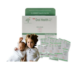 Baby Dental Care Cotton Tissue Natural Safety Ingredient Tooth and Gum Wipes