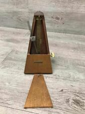 Vintage Wood and metal Seth Thomas Metronome