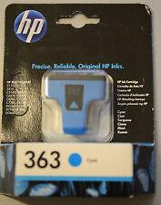 (PRL) HP 363 ORIGINALE CARTUCCIA INCHIOSTRO INK CARTRIDGE CYAN CIANO C8771EE NEW