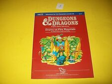 X8 DRUMS ON FIRE MOUNTAIN DUNGEONS & DRAGONS MODULE TSR 9127 3