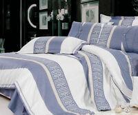 Ardor ARI 250TC 100% Cotton Quilt Doona Cover Set  SINGLE DOUBLE QUEEN KING