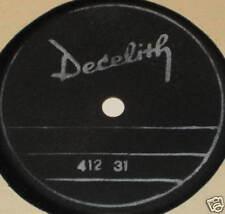 78rpm/DECELITH/412 31/FLEXIBLE/MEGARAR