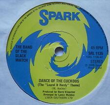 "Band of the Black Watch-Marche avec Cuckoos-EX détenu 7"" Spark SRL 1135"