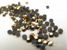 STRASS MC Stone collection 100pz SS6 2mm ORO Gold termoadesivi hotfix hematite
