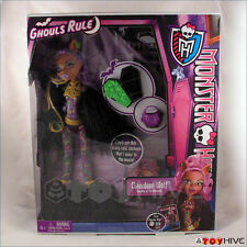 Monster High Ghouls Rule Doll Clawdeen The Werewolf's Daughter Halloween new