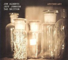 "Jon Alberts Trio, ""Apothecary""  (CD, Jul-2009)"