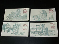 4 X Country Crafts da Eric STEMP LIBRETTO di FRANCOBOLLI-COME NUOVO