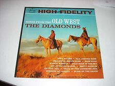 The DIAMONDS Songs From the Old West Mono LP Mercury 20480 NM  MS1/MS1
