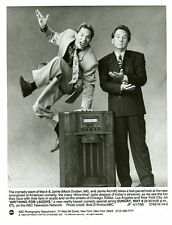 MACK DRYDEN JAMIE ALCROFT VINTAGE RADIO ANYTHING FOR LAUGHS 1990 ABC TV PHOTO