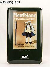 """Montblanc Sheet Metal Box """"Sicherheitsfüllhalter"""" (vintage design)"""