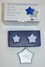 "Creative Memories Large Star Maker Paper Punch 1 1/4"" & 1 1/2""  NEW"