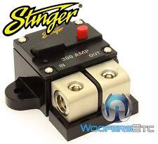 STINGER SGP90300 PRO 300 AMP 0 GAUGE 4 GA AWG WIRE CIRCUIT BREAKER CAR AUDIO NEW