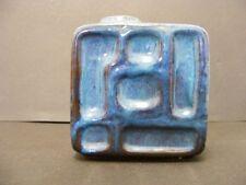 60er Strehla Keramik Lava Vase DDR Design OP ART East Germany 60s