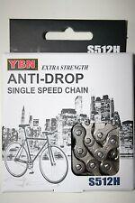 "E-bike fixie singelspeed BMX cadena 1/2"" x 1/8"", 124 eslabones nuevo"