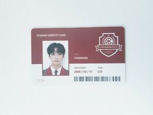 "K-POP CIX Album ""Chapter 2, Hello Strange Place"" Official YongHee Photocard"