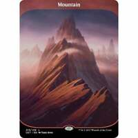 MTG Unstable - Mountain - Full Extended Art NM Card