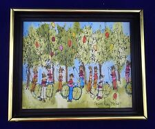 Original Oil on Canvas Painting Signed Susan Pear Meisel