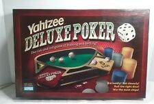 Yahtzee Deluxe Poker - Parker Brothers - 2005 - Complete Preowned