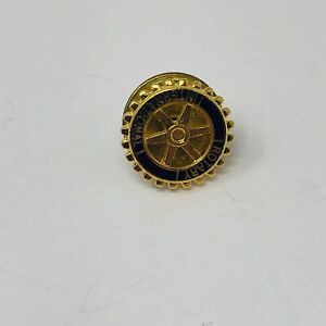 Vintage Rotary International Service Club Lapel Shirt Jacket Pin