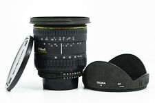 SIGMA EX 17-35MM D 1:2.8-4 LENS FOR NIKON CAMERAS WITH FRONT AND REAR CAPS