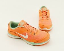 Turnschuhe Nike Training Sneaker Schnürer Synthetik Textil orange Gr. 38,5