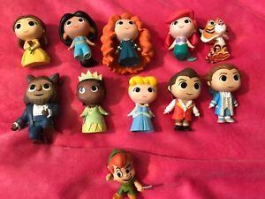 💖Bundle of Disney  smaller funko figures!! just displayed💖