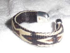 Hitched horse hair horsehair bracelet Brown & Black Southwest design