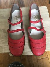 Ladies Brand New Red Rieker Shoes Size 5