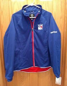 New York Rangers Women's XL Light Weight Full Zip Jacket NWT