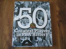 2009 PBA BOWLERS 50 Greatest Players in PBA History Rare Limited Book W/Auto's