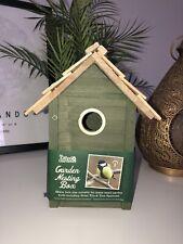 GREEN BIRD HOUSE BRAND NEW OUTDOOR GARDEN DECOR NESTING HUT