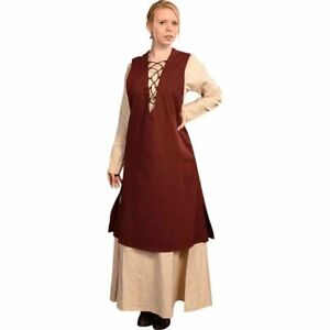 Medieval Tunic Wine Color For Girls New Item Costume