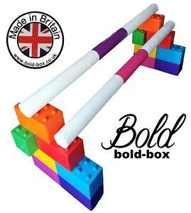 Jump Block. Horse training dressage Trotting Pole plastic Cavaletti Bold Box Pod